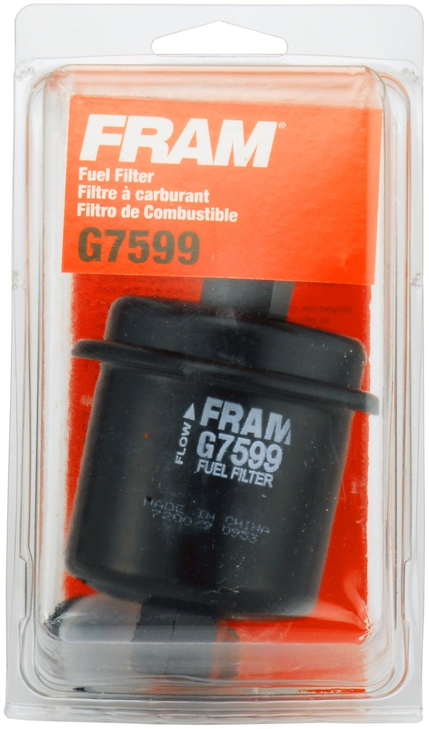 Fram G7599cs Fuel Filter Cartridge Automotive Text Flow