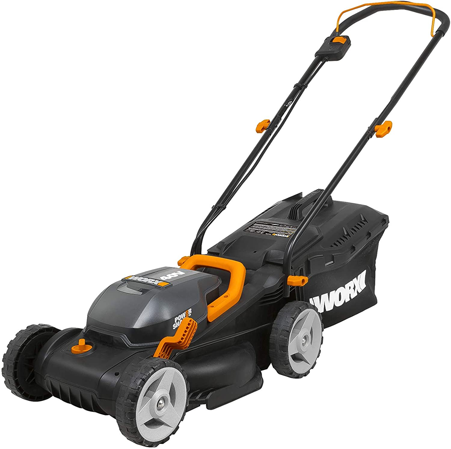 "WORX WG779 40V Power Share 4.0 Ah 14"" Lawn Mower"