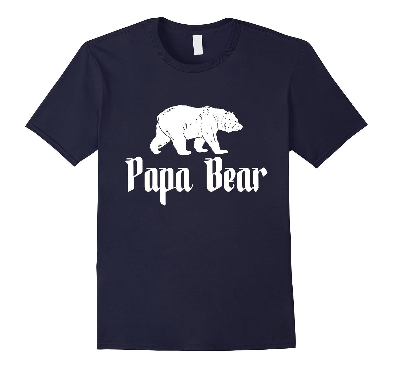 Papa Bear Shirt - Big Papa T-shirt-TH