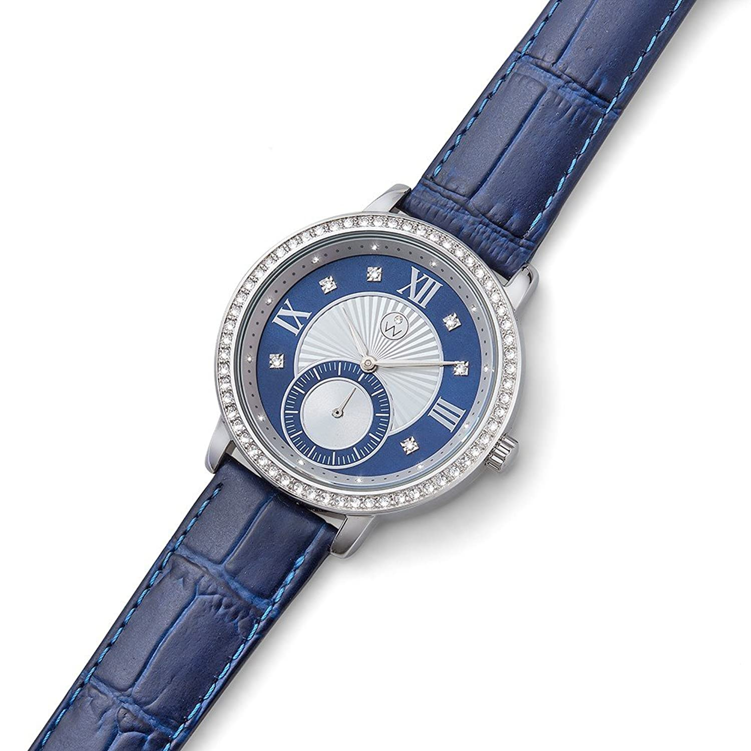 Oliver Weber Uhr Istanbul blue with Crystals from Swarovski Damen