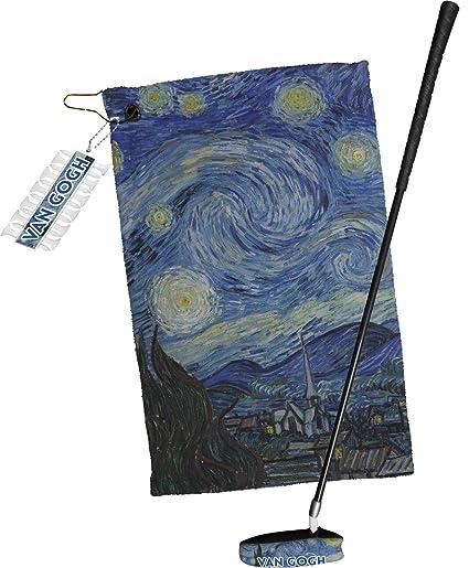 La noche estrellada (Van Gogh 1889) Tees de Golf y bola ...