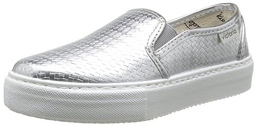 Victoria Slip On Tej Trenza Metalizado - Zapatillas de Deporte Unisex Adulto: Amazon.es: Zapatos y complementos