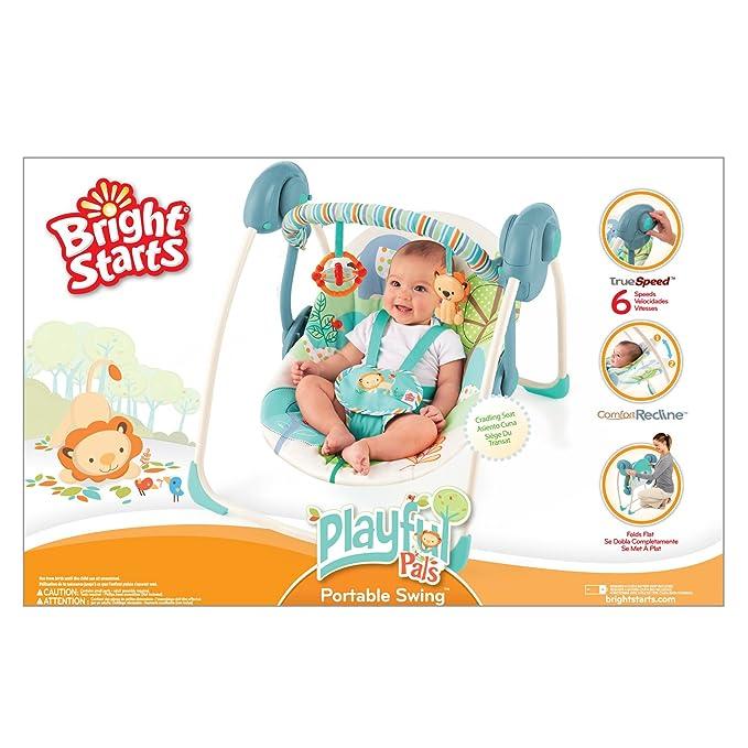 Bright Starts BS6938 - Andador giramesa con asiento