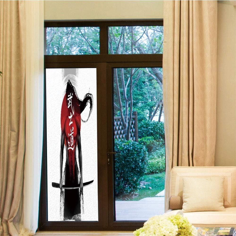 Película Decorativa para Ventana, Japonesa, para recámara, Sala de Estar, Cocina, Retrato de Dama Japonesa Cubierto su Cara con: Amazon.es: Hogar
