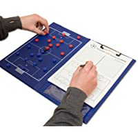 Wollowo A4 Magnetic Football Coaching Board/Tactics Folder With Pen & Paper