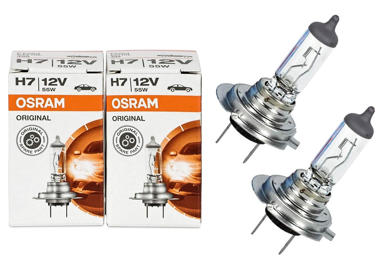 Osram H7 Longlife High Tech 12V 55W PX26d 64210L 2 Stü ck Lampen Autolampen Glü hlampen