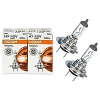 Osram H7 Longlife High Tech 12V 55W PX26d 64210L 2 Stück Lampen Autolampen Glühlampen