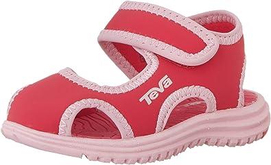 Color : Navy , Size : 3 M US Little Kid Non-Slip Summer Shoes Kids Boys Open Toe Three Strap Walking Sandals Durable
