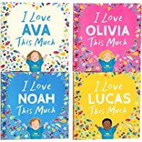 Personalized Storybook - I Love You This Much | Wonderbly (Hardcover)