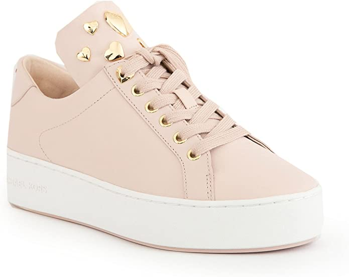 MICHAEL KORS Femme Chaussures Baskets Mindy Rose coeurs
