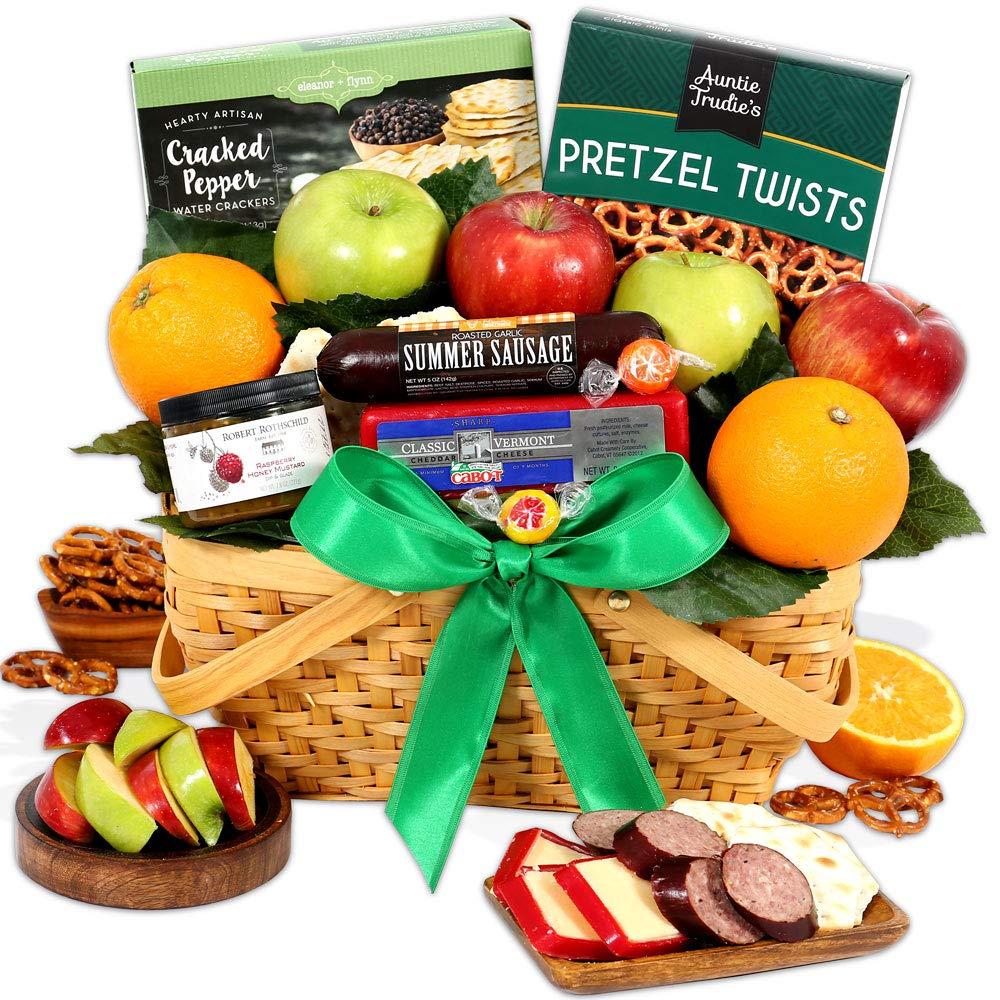 Amazon.com  GourmetGiftBaskets.com Picnic Fruit Basket - Gourmet Gift Baskets Prime - Fruit Baskets - Food Gift Baskets Prime Delivery - Birthday ...  sc 1 st  Amazon.com & Amazon.com : GourmetGiftBaskets.com Picnic Fruit Basket - Gourmet ...