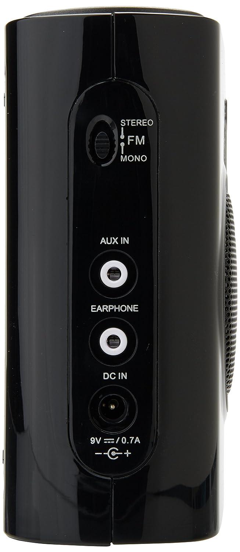 Sangean PR-D5 Black Portátil Digital Negro - Radio (Portátil, Digital, AM,FM, LCD, Naranja, Monocromo): Amazon.es: Electrónica