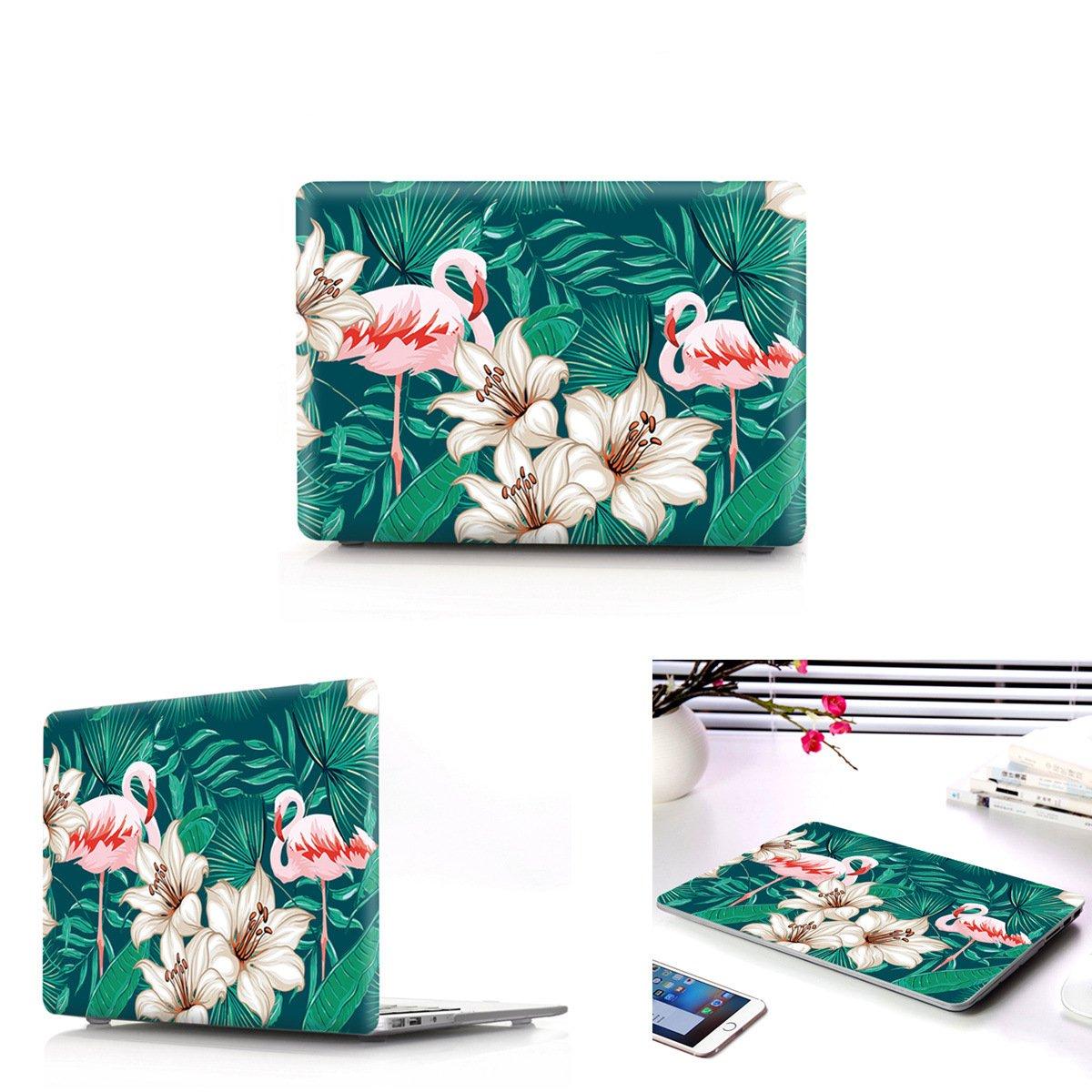 A1369/A1466 Macbook Air 13 Inch Case Cover,Plastic Hard Protective Shells Macbook Case for Macbook Shells Air 13 Inch (H-11 Flamingos) 4e5298