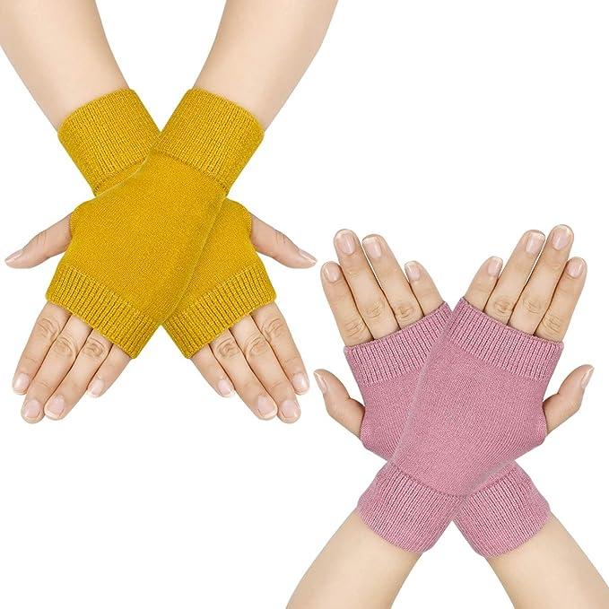 Strick Warm handschuhe Mit Wolle Damen winter handschuhe