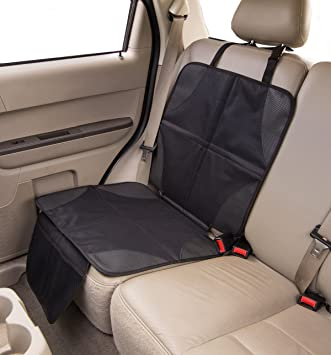Com Car Seat Protector With Built In Trash Can Babyseater
