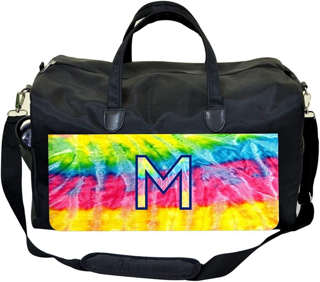 Tie Dye Stripe Customizable Sports Bag