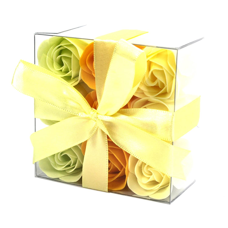 Set di 9Rose di sapone–Rosa di primavera Ancient Wisdom