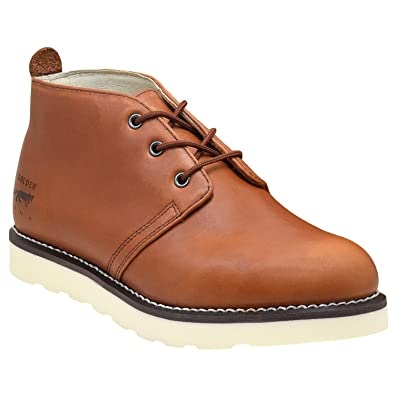 1e78e1c8c6a4 Golden Fox Men s American Heritage Work Chukka Boot with Lightweight Oil  Resistant Wedge Sole for Construction