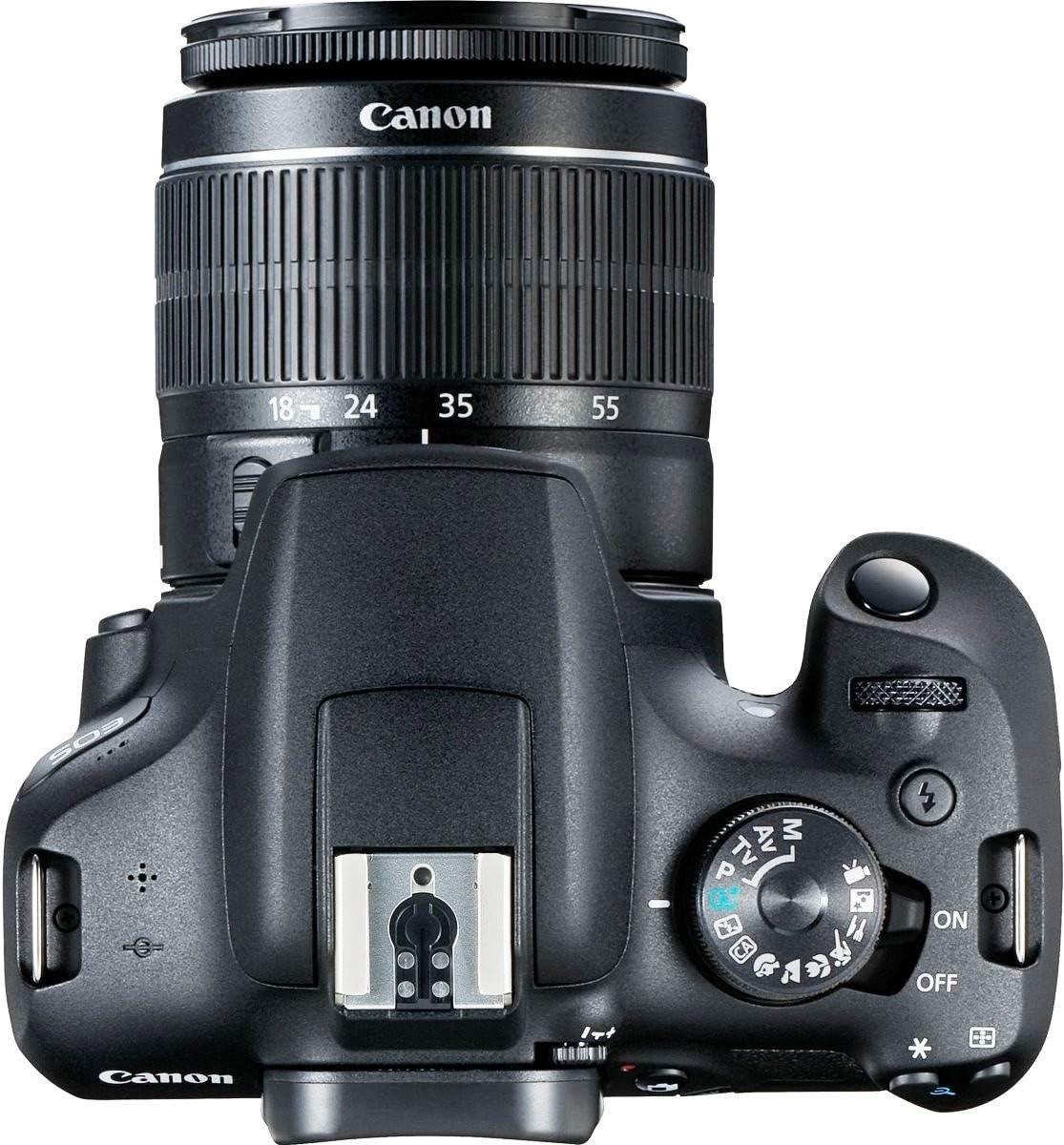 Canon EOS 2000D + EF-S 18-55mm f/3.5-5.6 III Juego de cámara SLR ...