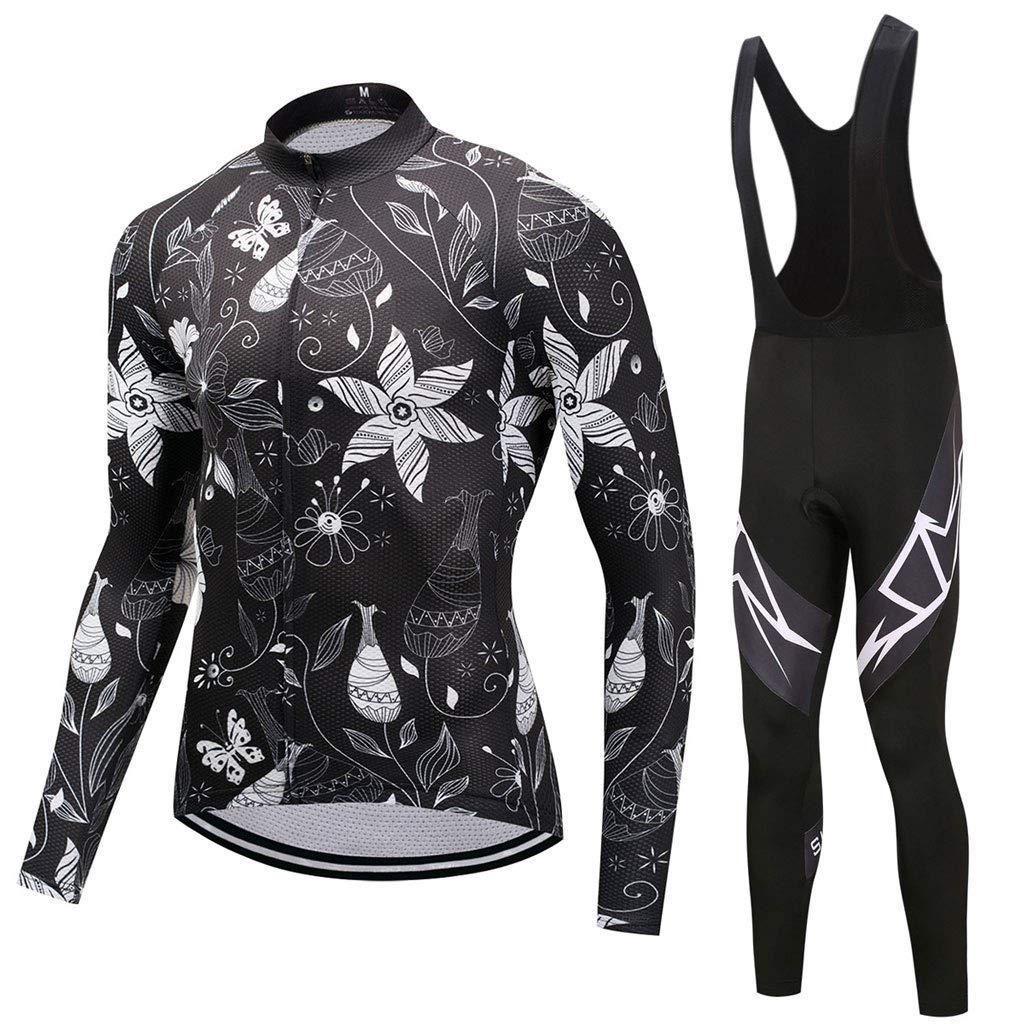 Lilongjiao Radfahren Jersey Radfahren Anzüge Männer Und Frauen Fahrrad Tragen Langarm Hosen & 3D Gel Kissen Jersey