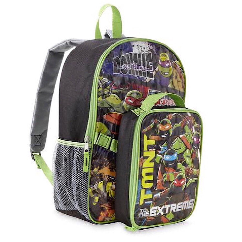 Nickelodeon Teenage Mutant Ninja Turtles Backpack & Lunch Bag