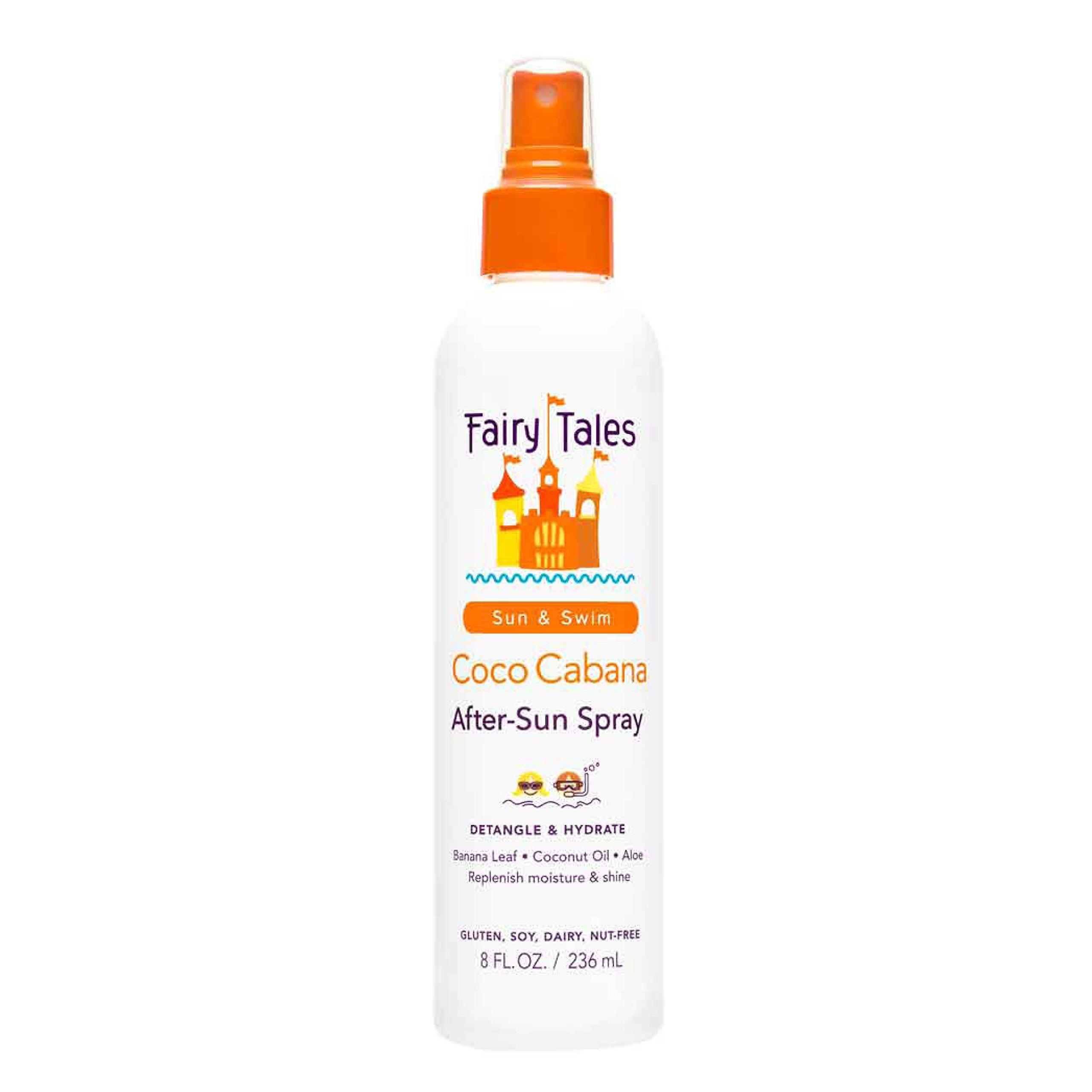 Fairy Tales Sun & Swim Coco Cabana After-Sun Spray for Kids - 8 oz by Fairy Tales