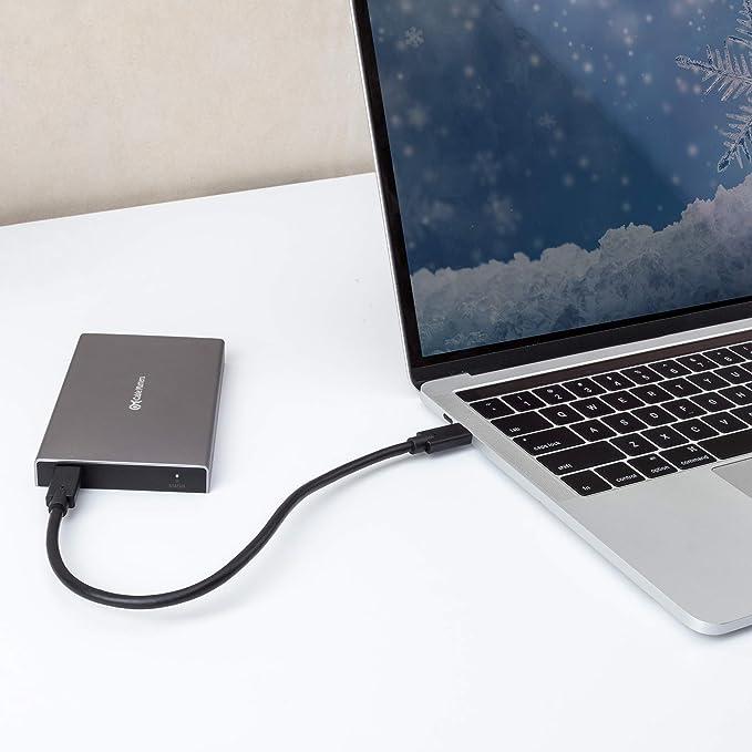 Cable Matters Carcasa de Disco Duro Externo USB-C SSD de 10 ...