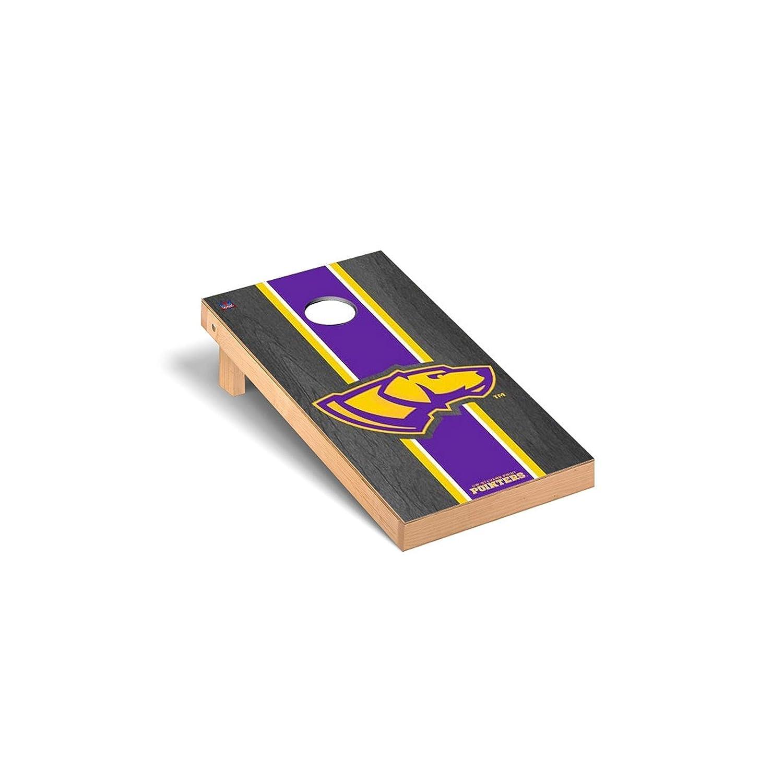 ウィスコンシン州Stevensポイントポインタregulation Cornhole Game SetオニキスStainedストライプバージョン B0178MJY6I