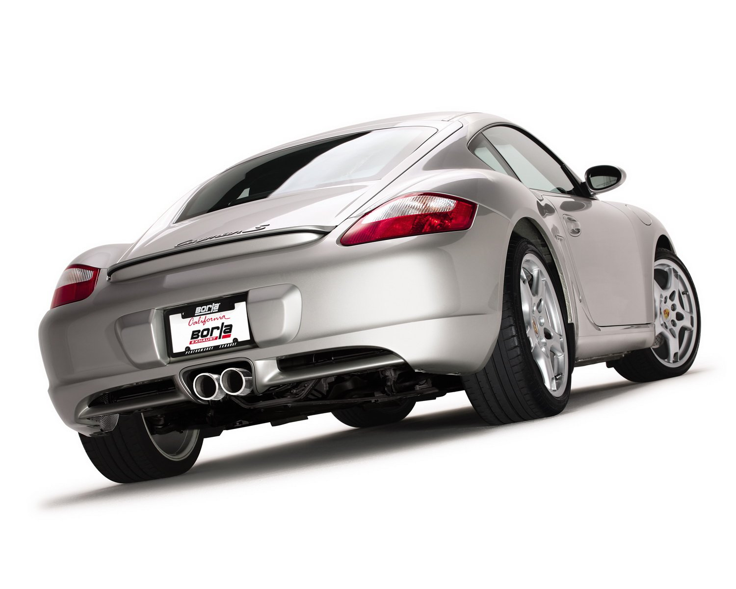 Borla 12654 Cat-Back Exhaust System CAYMAN//CAYMAN S//BOXSTER S 05-08 3.4L 6CYL AT//MT RWD 2DR