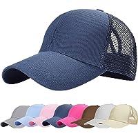 UMIPUBO Sombreros Gorra de Malla s Adjustable al Aire Libre Cap clásico Algodón Casual Sombrero Gorras de Béisbol para…