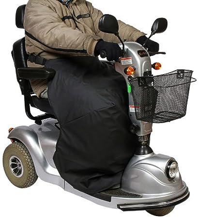 mobilex térmicos de rodillas – Manta para silla de ruedas y Scoot conductores, Negro,