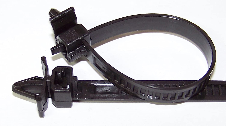 HONDA Black Nylon Releasable Cable Straps 148MM Honda # 90672-SA0-0030
