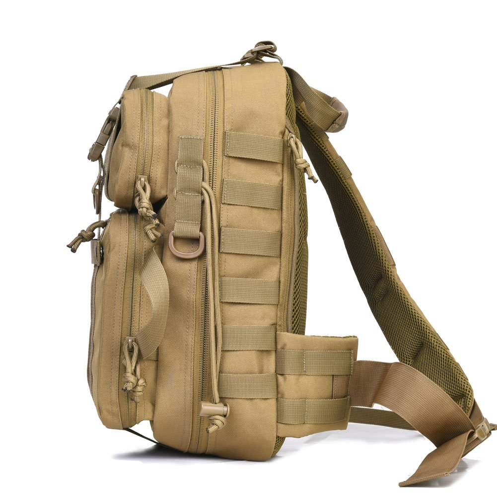 ... Tactical Sling Bag Pack Military Rover Shoulder Sling Backpack REEBOW  TACTICAL 8b61857cf79c8