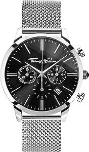 THOMAS SABO Men's TWA0245 Year-Round Analog Quartz Silver Watch