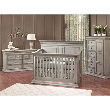Amazon.com : Baby Cache Vienna Lifetime Crib Ash Gray : Baby