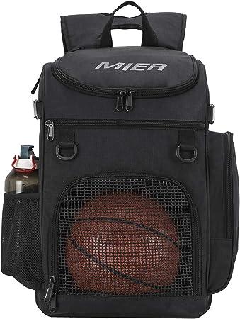 Amazon.com: MIER mochila de baloncesto grande bolsa ...