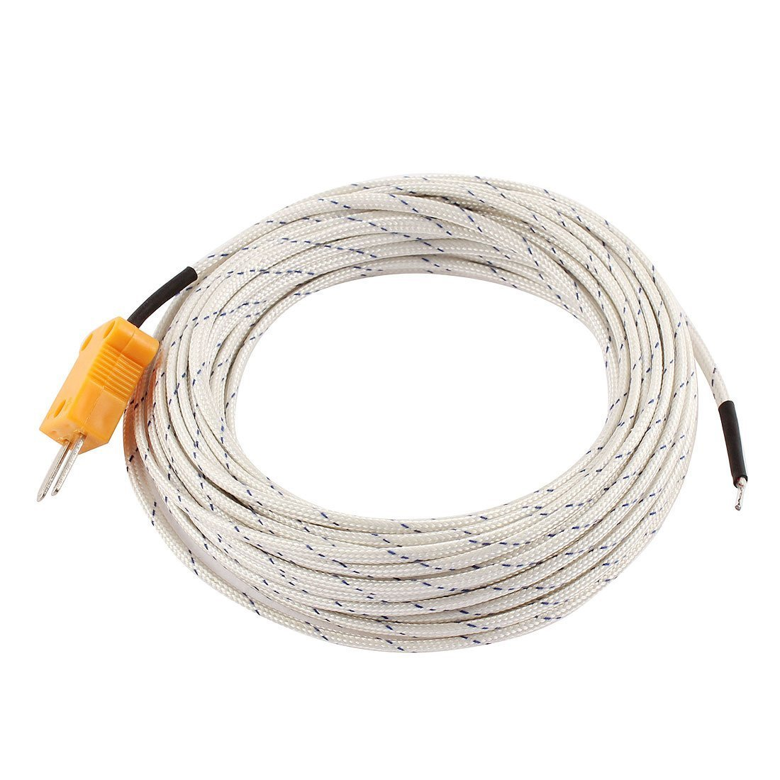 Uxcell a15050400ux0361 K Type 180C Wire Lead Thermocouple Sensor Probe 10M 33ft 50C to