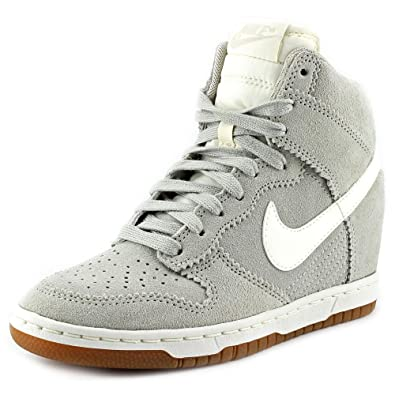 05d6dfd43442 Nike Dunk Sky HI Women Color  Pale Grey   Sail 528899-003 (SIZE