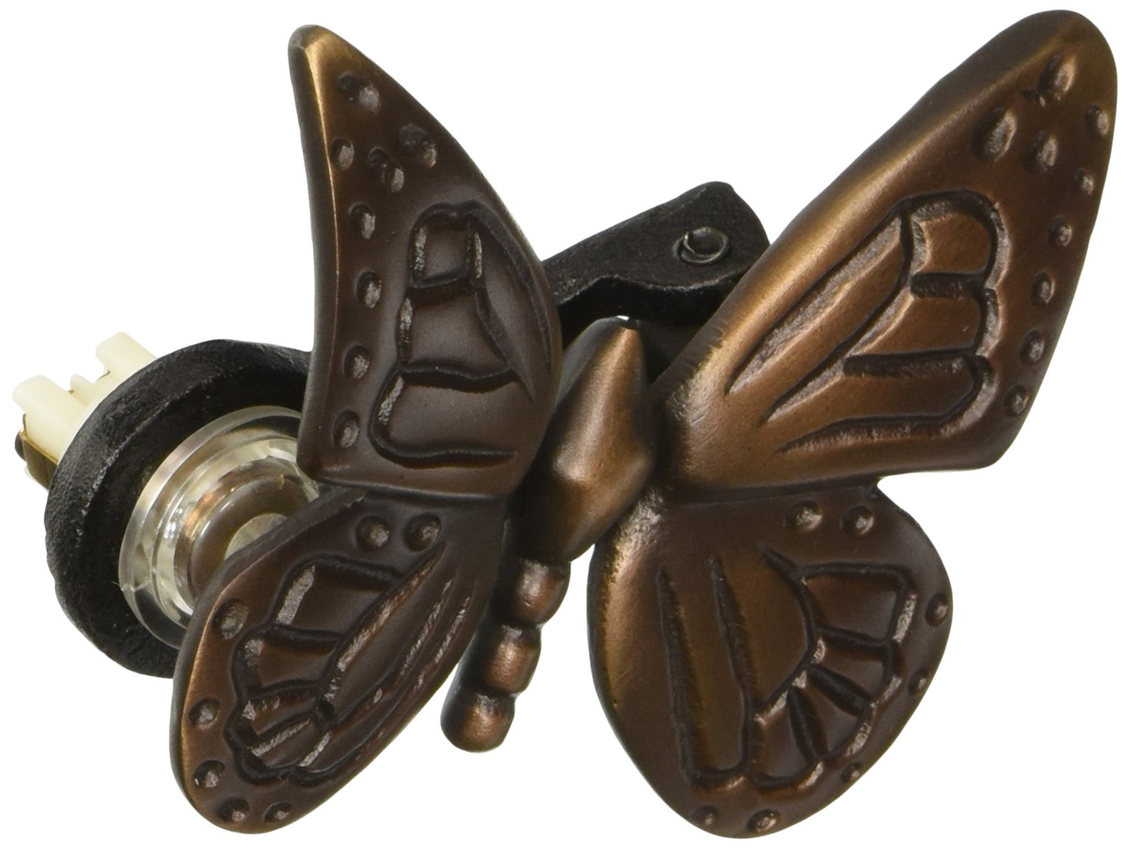 Monarch Butterfly Doorbell Ringer - Oiled Bronze by Michael Healy Designs