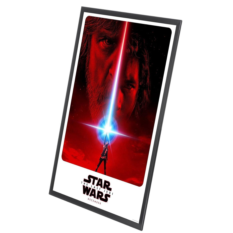 Amazon.com - SnapeZo Black Movie Poster Frame 27x40 Inches, 1.25 ...