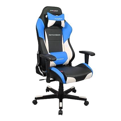 DXRacer DF61 Drift Series Racing Cubo asiento silla de oficina ergonómico Gaming, con apoyo lumbar