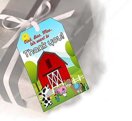Party PropzTM Farm House Thank You Tag Set Of 12 Farmhouse Supplies