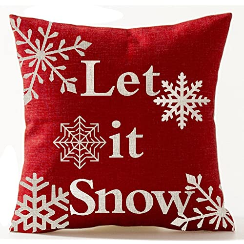 andreannie beige ivory shadow various beautiful snowflakes let it snow in red new home room decorative