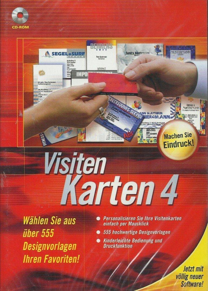 Visitenkarten 4 German Version Amazon Co Uk Software