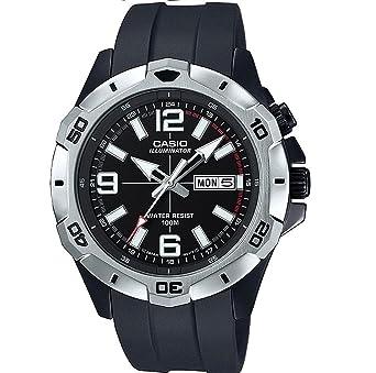 CASIO Reloj Analogico para Hombre de Cuarzo con Correa en Resina MTD-1082-1AVEF: Amazon.es: Relojes