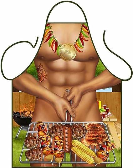 Funny Baking Apron \u2013 Novelty Cooking Chef Gift For Men \u2013 Womens Baking Gift Full BBQ Grilling Kitchen Aprons /'Snake Skin/'
