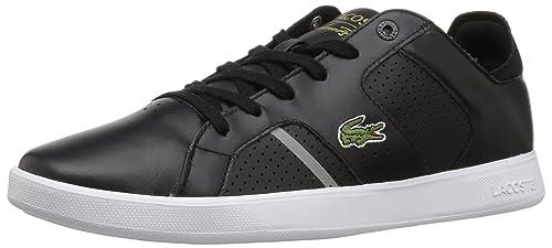 54dcd1e8783155  Lacoste Novas CTSneakers - Zapatillas para Hombre, Negro  Gris Cuero, 10 M US 63c8b433366265  hombre casual tenis ... 099cfcb6d4