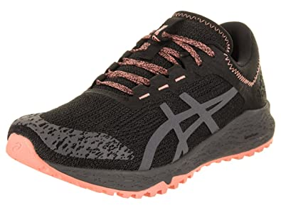73d7ffe306df ASICS Women s Alpine XT Running Shoe Black Carbon Begonia Pink 5 ...