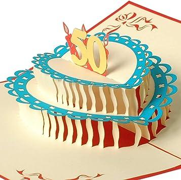 Geburtstagskarte 50er jahre