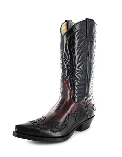 acheter en ligne 9d3e1 a94e7 Sendra Boots 3241 Bottes Marron Cowboy Western